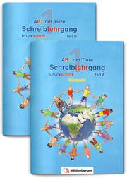 ABC der Tiere 1 - Schreiblehrgang Druckschrift, Kompakt, Neubearbeitung