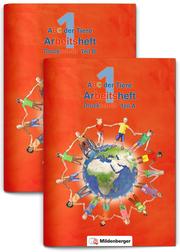 ABC der Tiere 1 - Arbeitsheft Druckschrift, Teil A und B, Neubearbeitung
