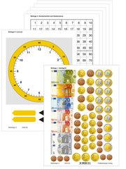 Mathetiger - Neubearbeitung Buchausgabe - Klasse 1 bis 4, Mathetiger 2, Arbeitsbeilagen