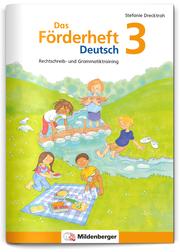Das Förderheft Deutsch 3