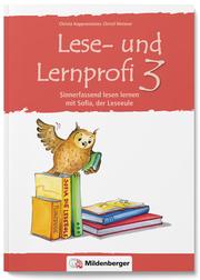 Lese- und Lernprofi 3 - Schülerarbeitsheft