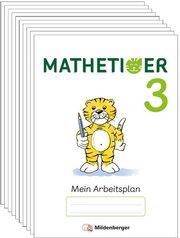 Mathetiger 3 - Arbeitsplan zur Heftausgabe (VPE 10)