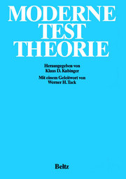 Moderne Test Theorie