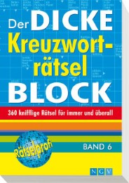 Der dicke Kreuzworträtsel-Block 6