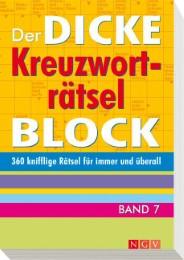 Der dicke Kreuzworträtsel-Block 7