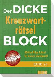 Der dicke Kreuzworträtsel-Block 24