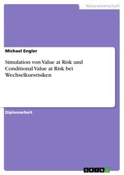 Simulation von Value at Risk und Conditional Value at Risk bei Wechselkursrisiken