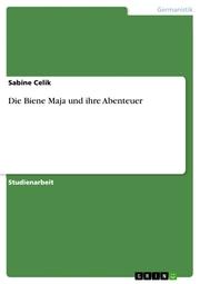 Die Biene Maja und ihre Abenteuer - Cover