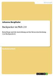 Backpacker im Web 2.0