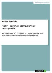 'Eins' - Integrales interkulturelles Management