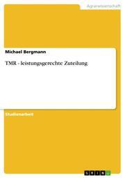 TMR - leistungsgerechte Zuteilung