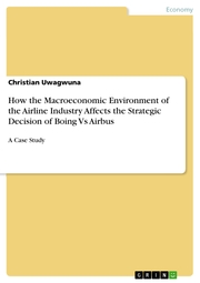 How the Macroeconomic Environment of the Airline Industry Affects the Strategic Decision of Boing Vs Airbus