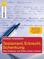Testament, Erbrecht, Schenkung
