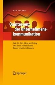 Quintessenz der Unternehmenskommunikation