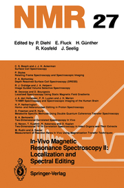 In-Vivo Magnetic Resonance Spectroscopy II: Localization and Spectral Editing