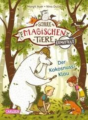 Die Schule der magischen Tiere ermittelt 3: Der Kokosnuss-Klau (Zum Lesenlernen) - Cover