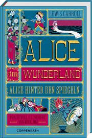 Alice im Wunderland/Alice hinter den Spiegeln - Cover