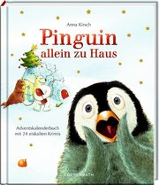 Pinguin allein zu Haus