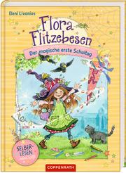 Flora Flitzebesen - Der magische erste Schultag - Cover