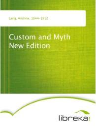 Custom and Myth New Edition