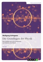 Die Grundlagen der Physik - Cover