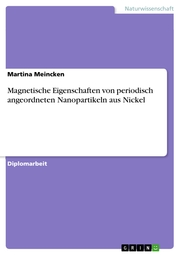 Magnetische Eigenschaften von periodisch angeordneten Nanopartikeln aus Nickel