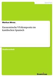 Exozentrische VN-Komposita im kastilischen Spanisch