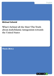 What's behind all the Hate? The Truth about Arab/Islamic Antagonism towards the United States