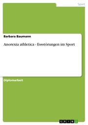 Anorexia athletica - Essstörungen im Sport