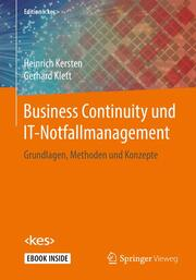 Business Continuity und IT-Notfallmanagement - Cover