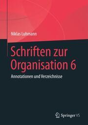 Schriften zur Organisation 6
