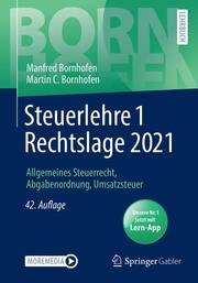 Steuerlehre 1 Rechtslage 2021