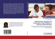 Elementary Teachers of Cameroon and Children's Literacy Achievement