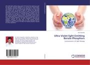 Ultra Violet light Emitting Borate Phosphors