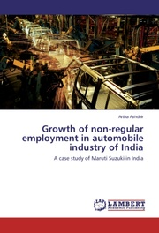 Growth of non-regular employment in automobile industry of India