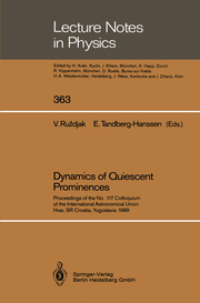 Dynamics of Quiescent Prominences