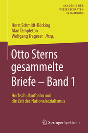 Otto Sterns gesammelte Briefe 1