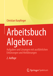 Arbeitsbuch Algebra