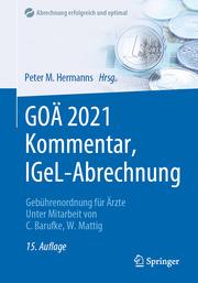 GOÄ 2021 Kommentar, IGeL-Abrechnung
