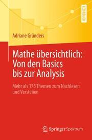 Mathe übersichtlich: Von den Basics bis zur Analysis