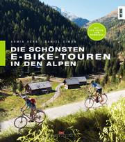 Die schönsten E-Bike-Touren in den Alpen - Cover