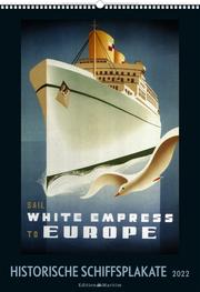 Historische Schiffsplakate 2022 - Cover