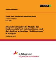 Alternative Streetwork? Modelle der Straßensozialarbeit zwischen Komm- und Geh-Struktur anhand der 'Api-Homezone' in Stuttgart