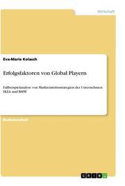 Erfolgsfaktoren von Global Playern
