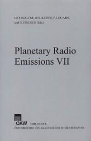 Planetary Radio Emissions VII