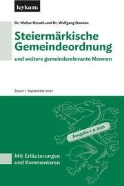 Steiermärkische Gemeindeordnung und weitere gemeinderelevante Normen