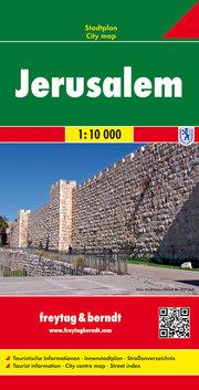 Jerusalem, Stadtplan 1:10.000