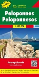 Peloponnes, Autokarte 1:150.000, Top 10 Tips