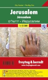 Jerusalem, Stadtplan 1:12.500, City Pocket + The Big Five