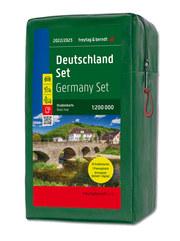 Deutschland, Straßenkarten-Set 1:200.000,2022/2023 - Cover